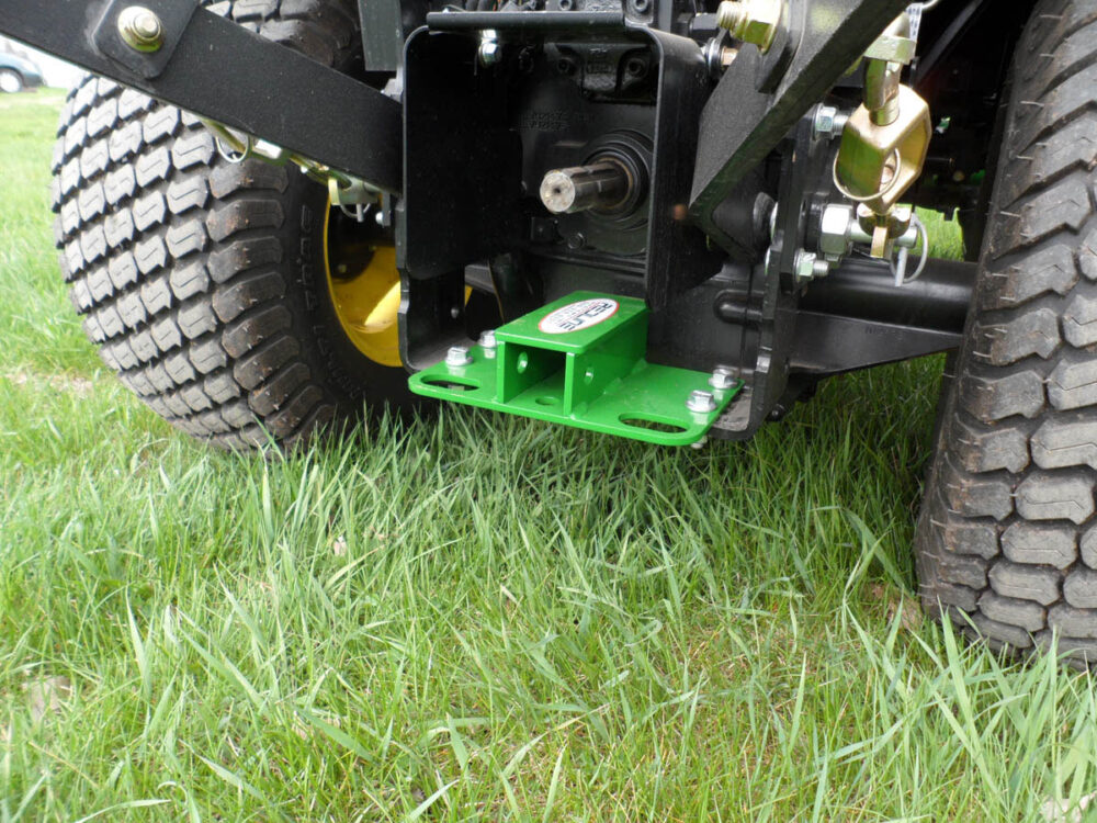 John Deere Compact Tractor Rear Receiver Hitch and Tie Downs Photo 2