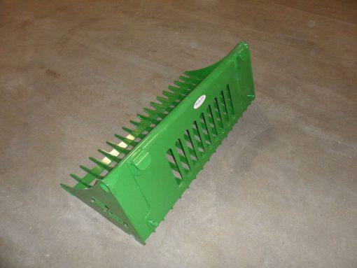 John Deere Compact Tractor Rock Bucket Attachment Photo 3