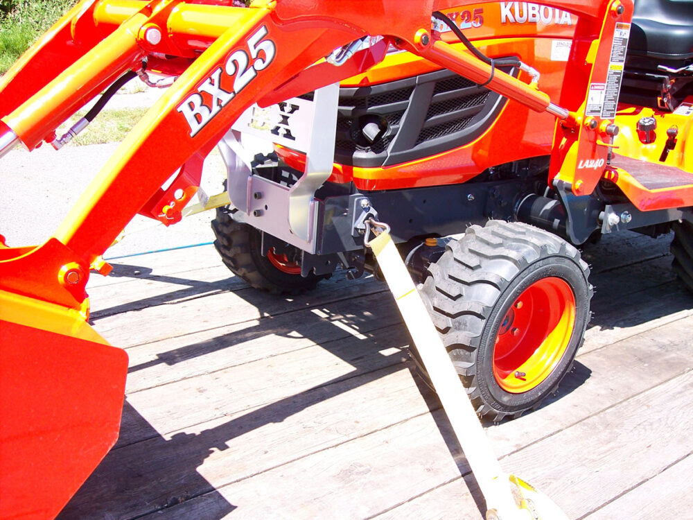 Kubota BX Front Tie Downs Photo 1