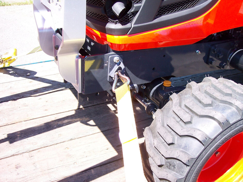 Kubota BX Front Tie Downs Photo 2