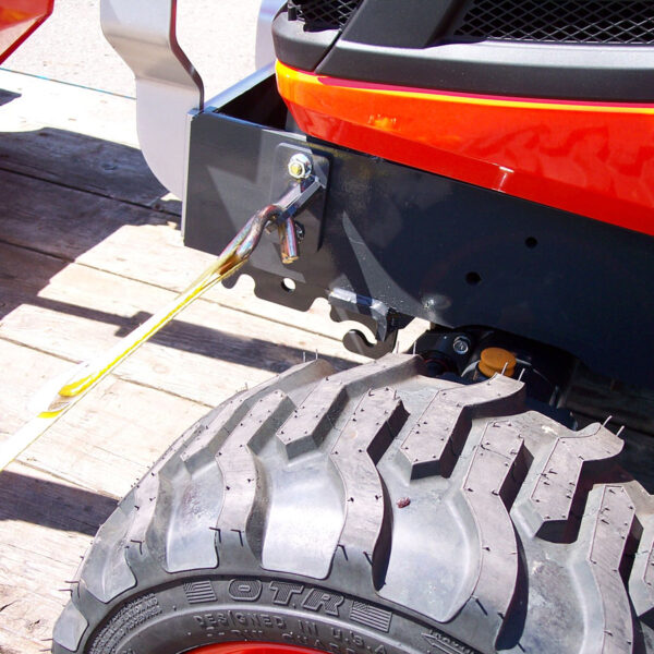 Kubota BX Front Tie Downs Photo 3