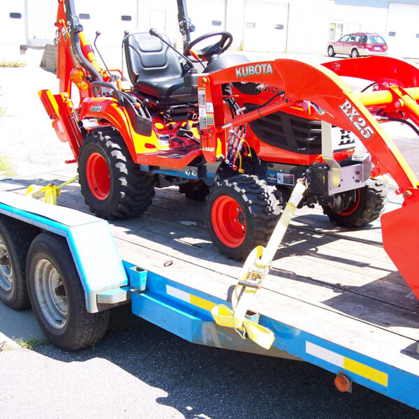 Kubota BX Front Tie Downs Photo 4