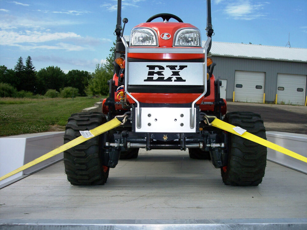 Kubota BX Front Tie Downs Photo 11