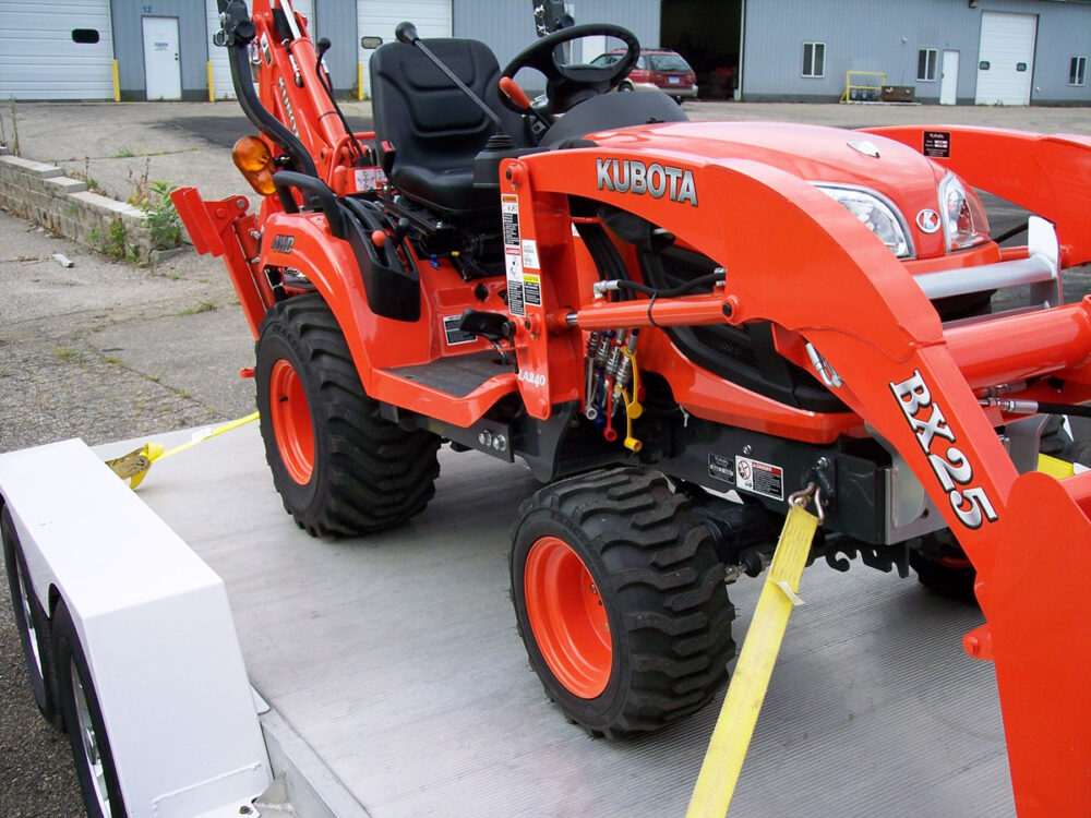 Kubota BX Front Tie Downs Photo 15