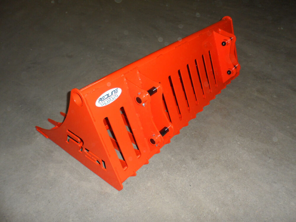 Kubota BX Rock Bucket Attachment Photo 6