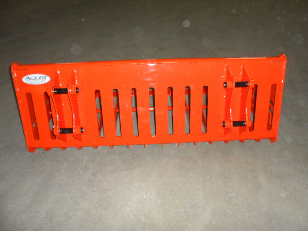 Kubota BX Rock Bucket Attachment Photo 7