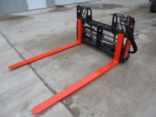 Skid Steer Loader Hydraulic Pallet Forks Photo 1